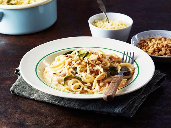 Pastasås med zucchini