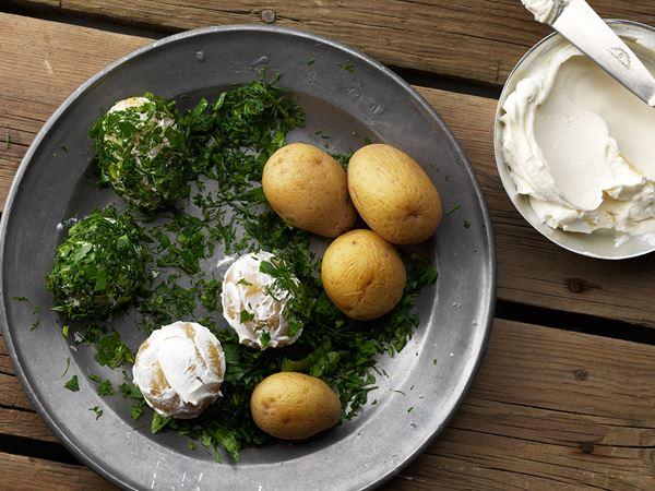 Gröna potatisar