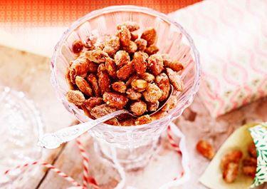 Brända mandlar