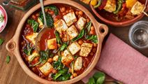 Vegetarisk curry med paneer