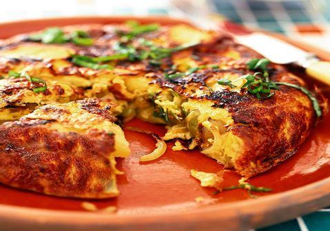 Spansk tortilla