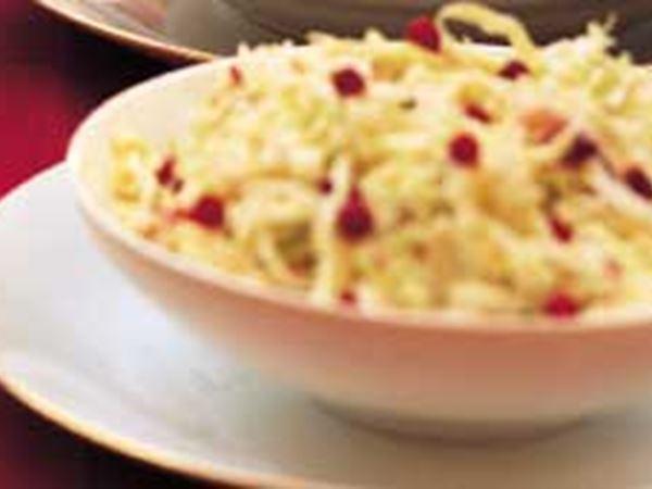 Coleslaw med lingon