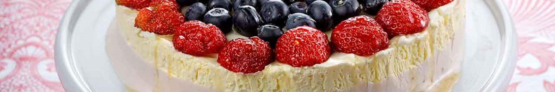 För barn + Kvarg + Tårta