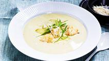 Sparrissoppa med torsk