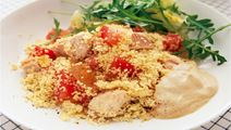Couscous med kyckling