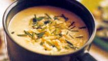 Sellerisoppa med parmesan
