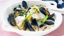 Fiskgryta med musslor