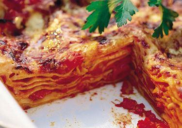 Lasagne med bacon