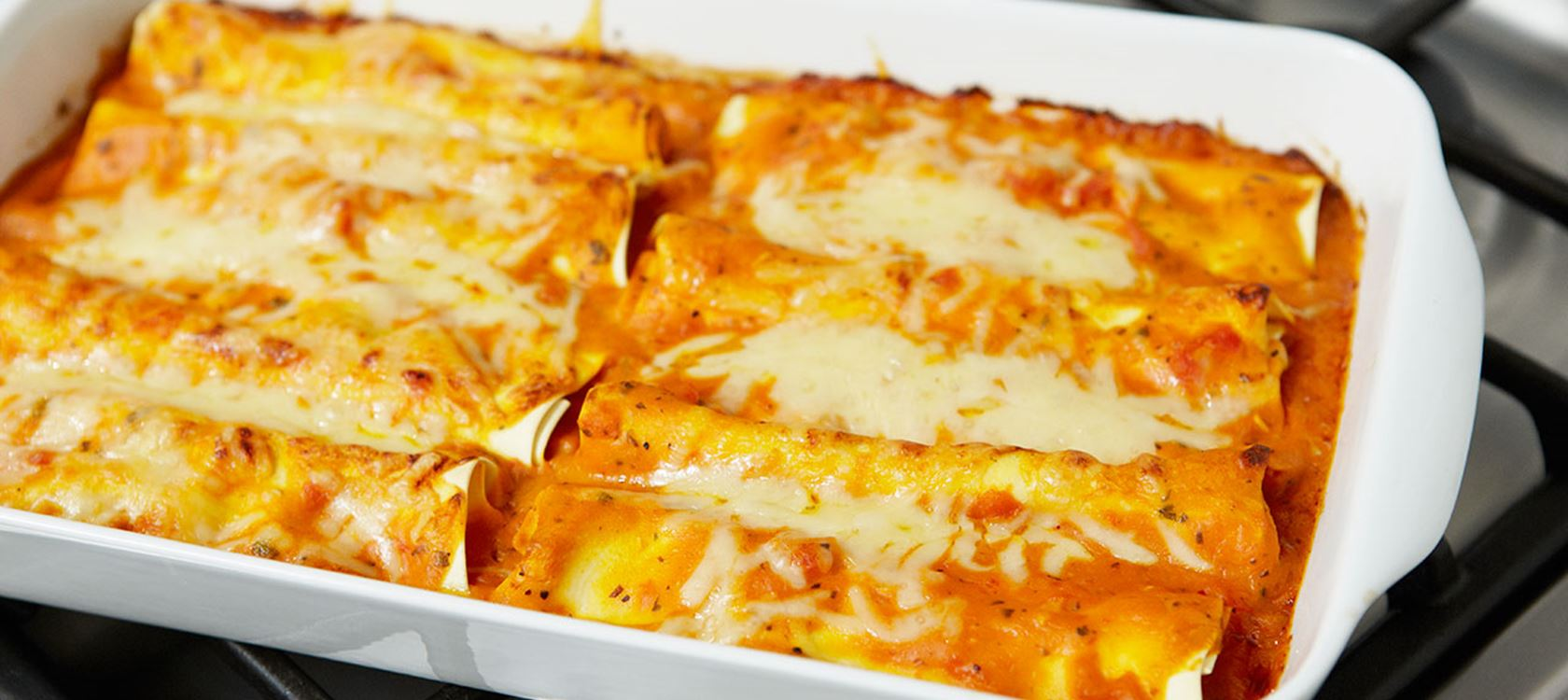 Cannelloni med getost