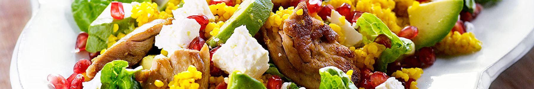 Kyckling + Baguette + Sallad