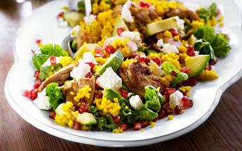 vegetarisk kyckling recept