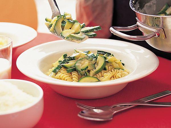 Stekt zucchini med timjan
