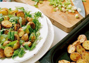 Rostad potatissallad