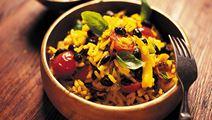 Vild risotto med bönor