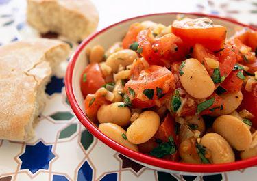 Salsa med tomat och bönor
