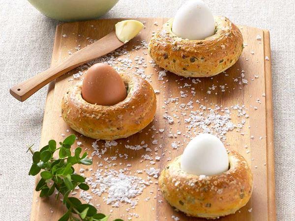 Påskbröd med ägg
