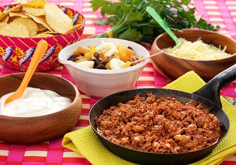 Tandoori taco
