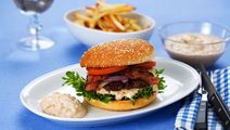 Lätt hamburgerdressing