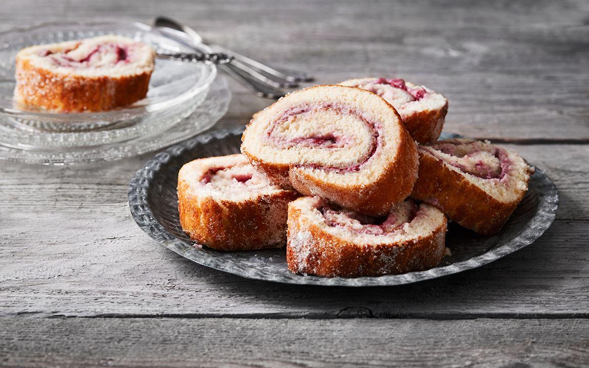 Rulltårta – grundrecept