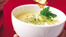 Snabb thaisoppa med kyckling
