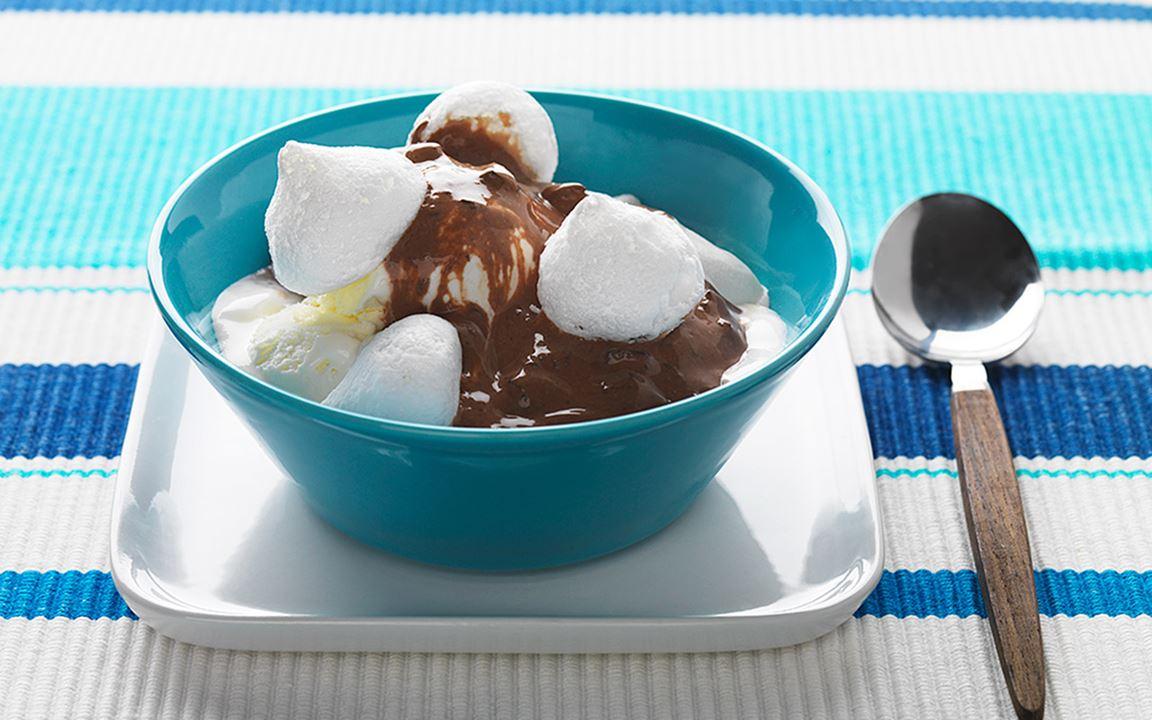 Marängsviss med choklad
