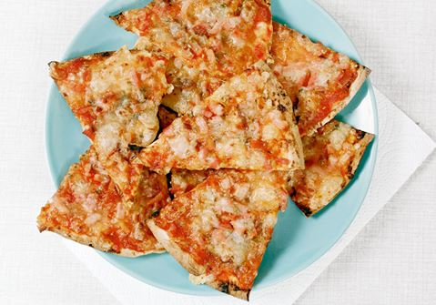 Supersnabba pizzabitar