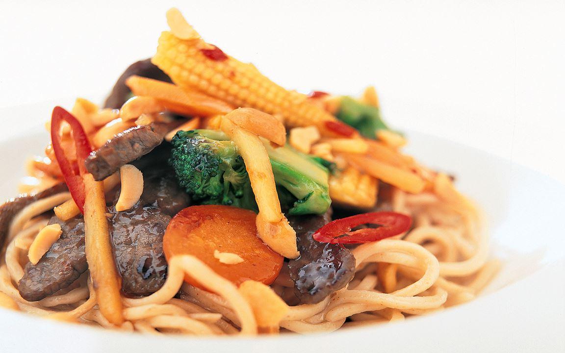 Hot biff wok