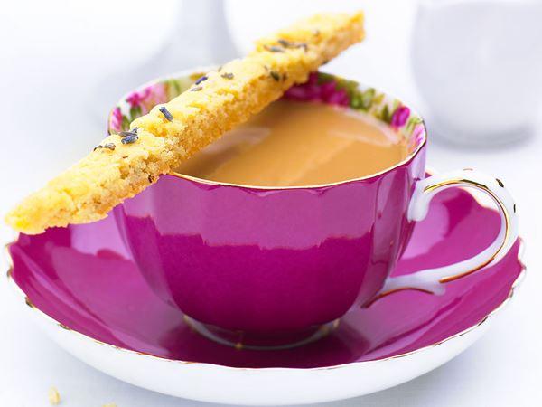 Snittar med smak av lavendel