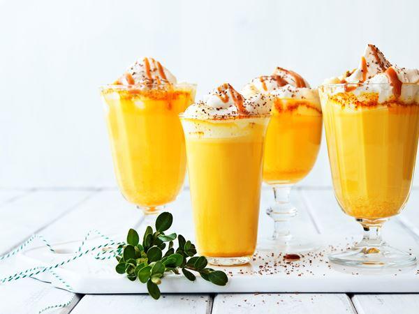 Golden milk med saffran