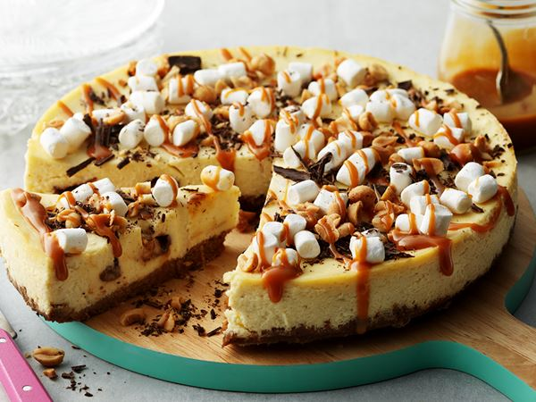 Cheesecake rocky road