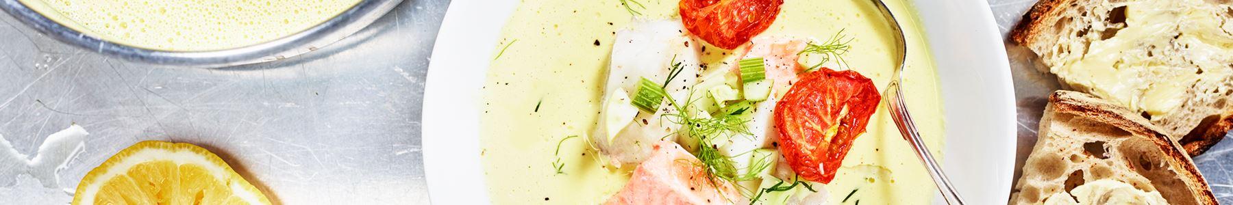 Recept på fisksoppa