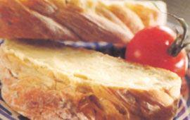 Vitlöksgrillat bröd 12 port