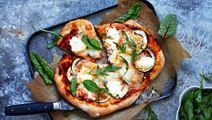 Grillad pizza med zucchini