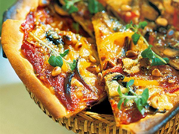 Grönsakspizza