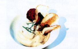 Sås med avokado och matyoghurt