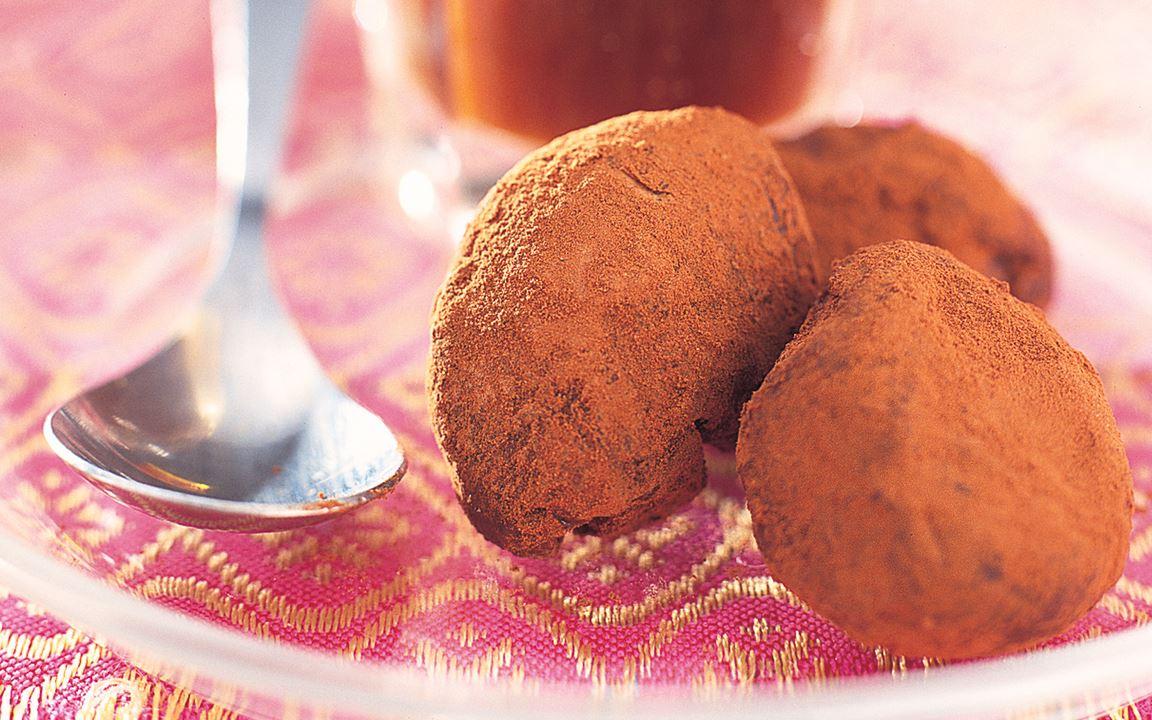 Chokladpraliner med rom