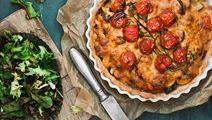 Tacopaj med sötpotatis och grönsaker