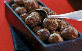 Ädla julköttbullar med älgfärs