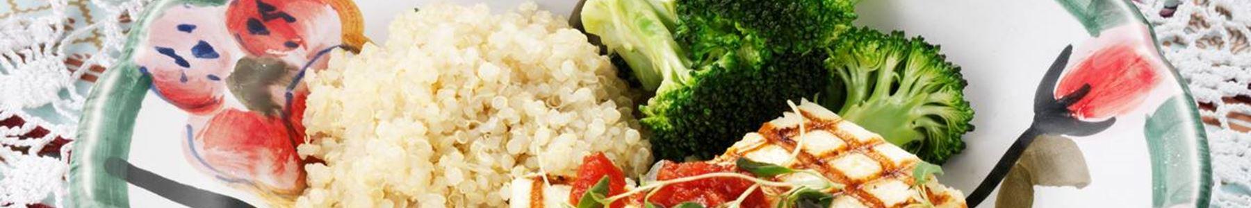 Billig + Quinoa + Sallad