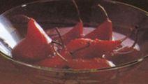 Vinbärspäron med hallon