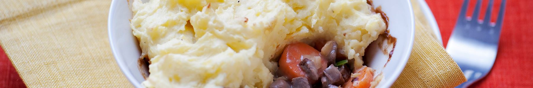Nöt + Middag + Paj + Stekt