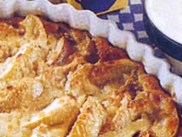 Lättlagad äppelkaka