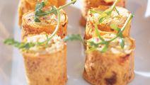 Tortillarullar med tonfiskröra