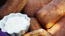 Pumpabröd med youghurt