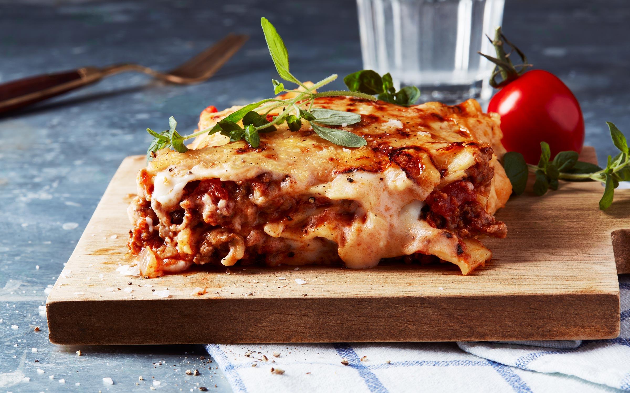 lasagne 1 kg köttfärs