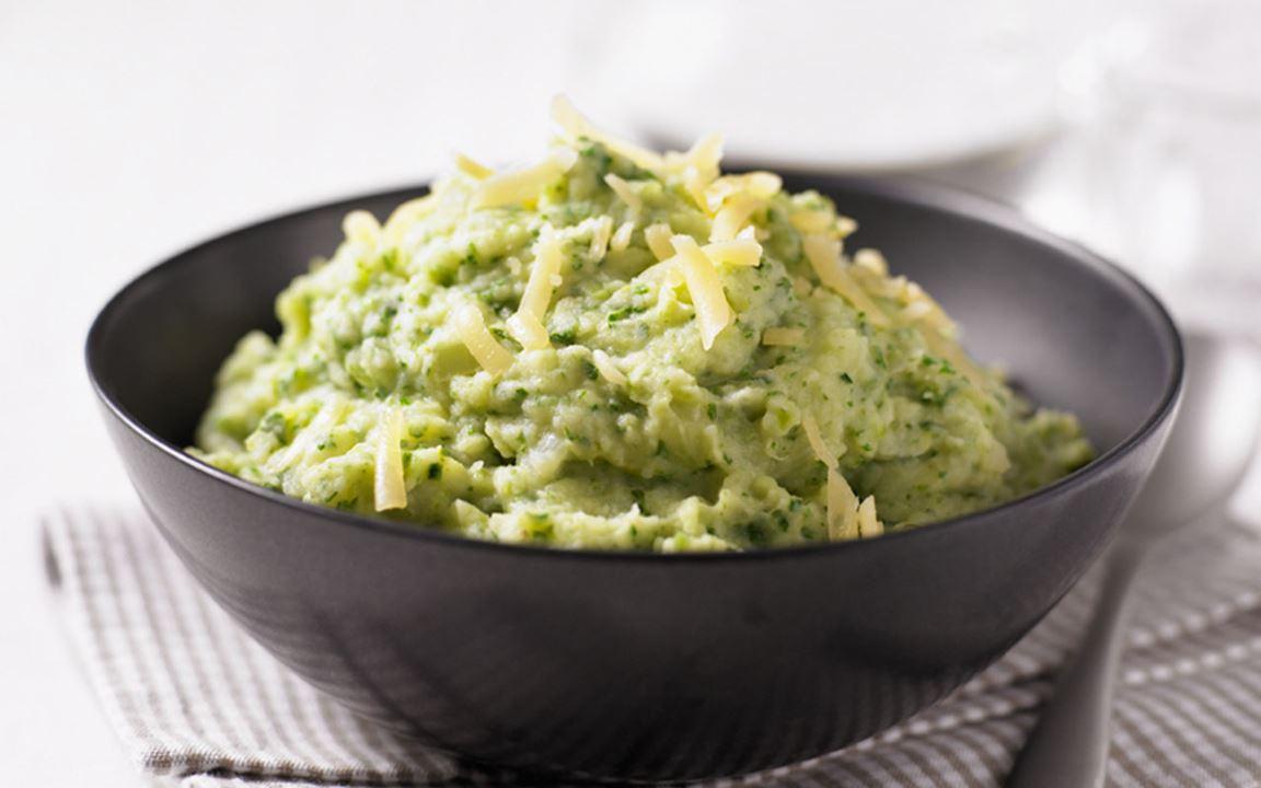 Potatismos med grönkål