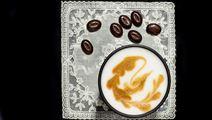 Latte med lagerblad