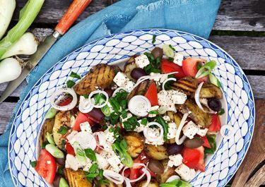 Grillad potatissallad
