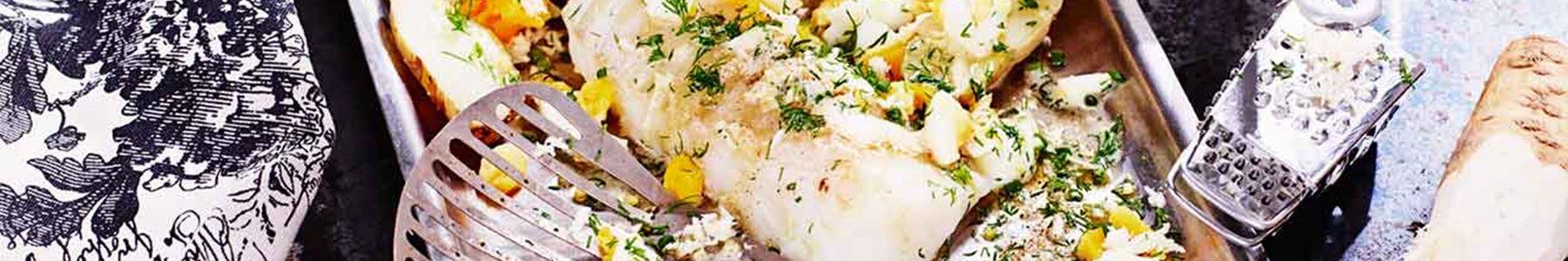 Fisk + Ägg + Pepparrot