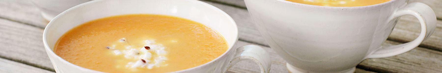 Soppa med ost